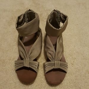 Anthropologie Shoes - Anthropologie Boutique 9 gladiator sandals 9.5 NEW